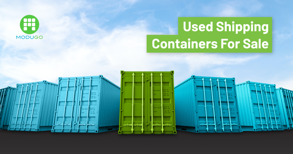 Used Shipping Containers for Sale or Rent - Shop ModuGo