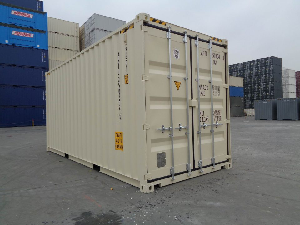 "20"" High Cube Shipping Container"