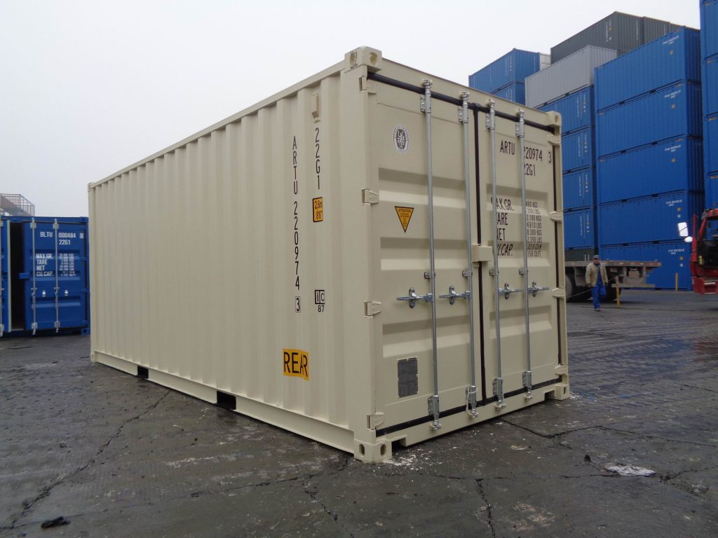 20' Standard Shipping Container Dimensions
