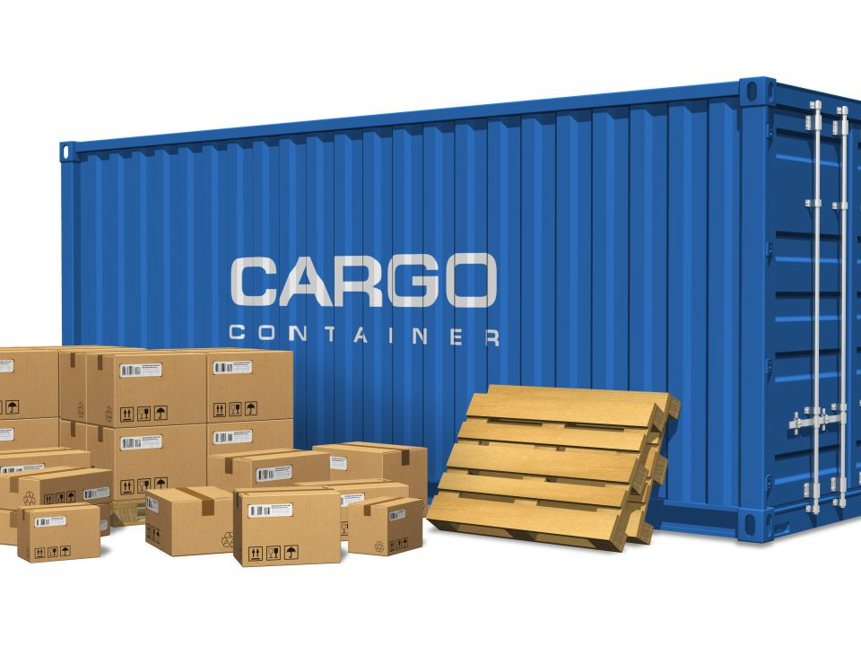 40 foot shipping container holds a lot of storage materials
