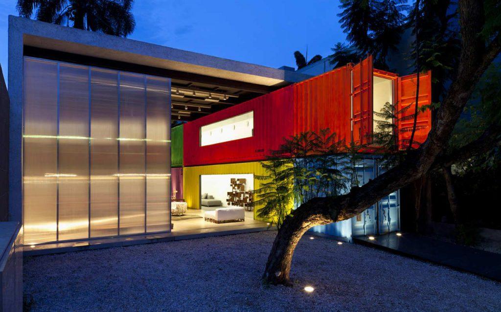 Cargo Container Rooms