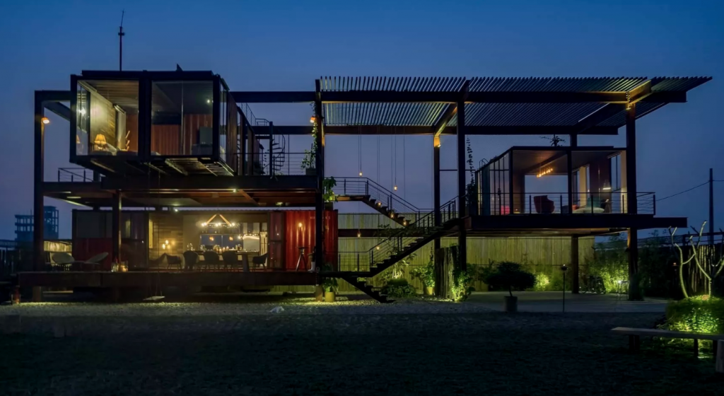 awesome shipping container home and rental