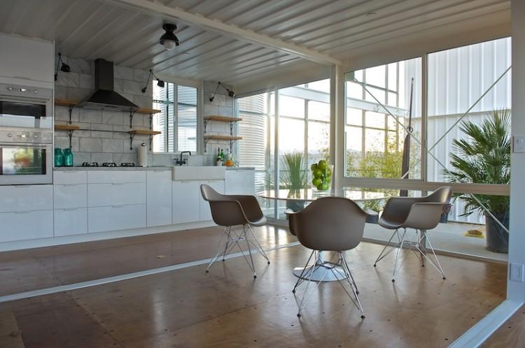Modern Minimalism Interior for Kitchen Space