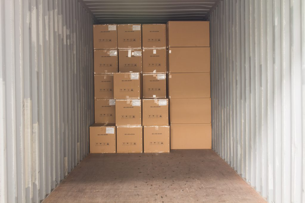 How to set up a shipping container for storage