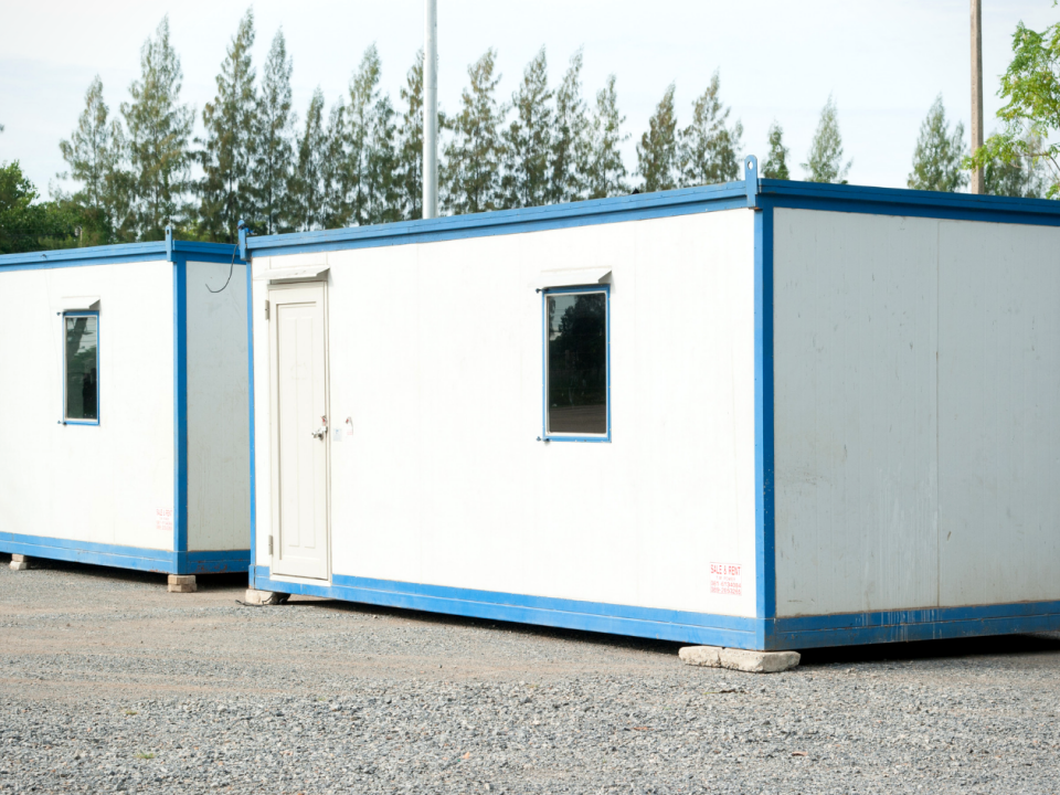 benefits of renting a shipping container office