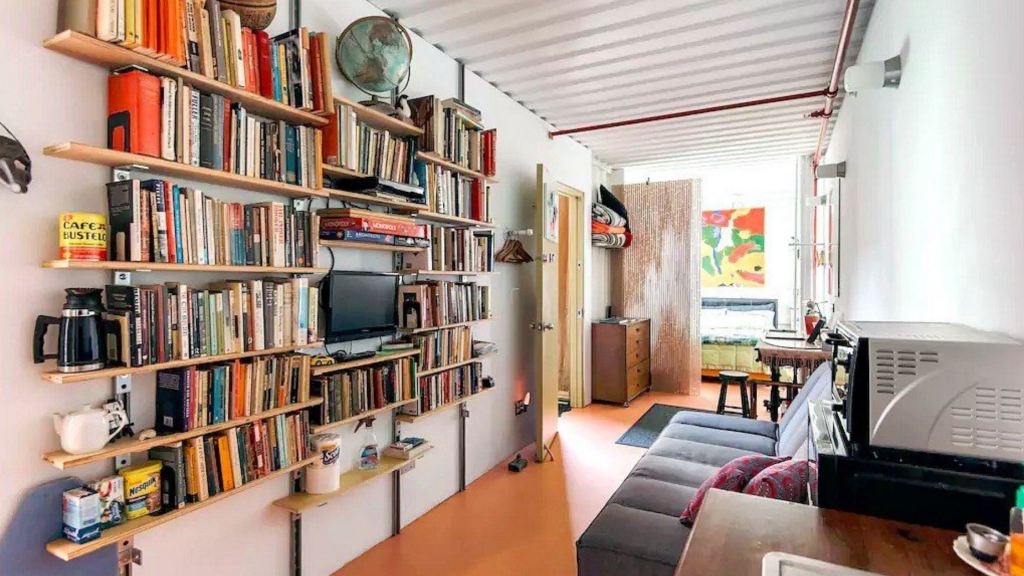 new york city shipping container apartment